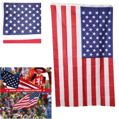 3' x 2' Single-Sided Polyester Flag