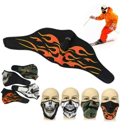 Neoprene Ski Mask/Winter Half Face Mask