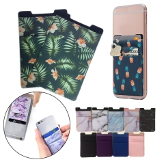 Full Color Sublimation Lycra Phone Wallet Pocket