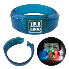 Motion / Sound LED Flashing Bracelets