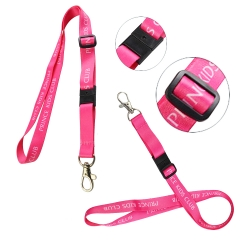 Adjustable Sublimated Lanyard w/ Safe Breakaway