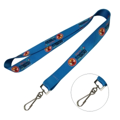 Sublimation Lanyard w/ J hook