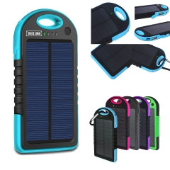 Carabiner Solar Power Bank / Phone charger