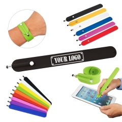 Slap Wrist Bracelet with Stylus