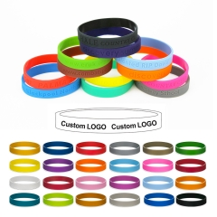 Debossed Youth Silicone Bracelet