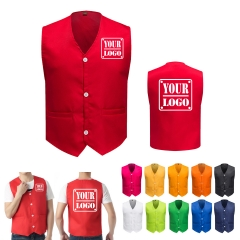 Waiter Vest Uniform