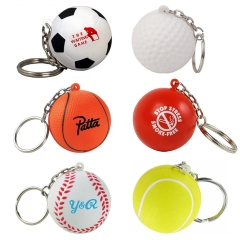 Custom Keychain Ball Stress Reliever