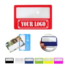 Credit Card Bookmark Magnifier
