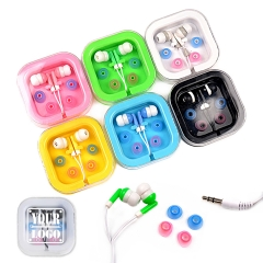 Plastic Case Color Pop Earbuds