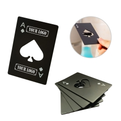 Ace Spades Poker Bottle Opener
