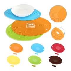 Oval Shape Silicone Placemats