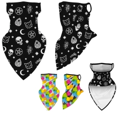 Full Color Sublimated Face Bandana Neck Gaiter