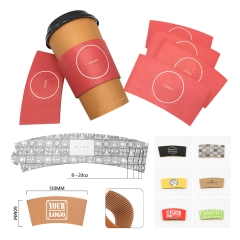 Adjustable Paper Cup Sleeve
