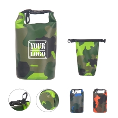 Camouflage Roll Top Floating Dry Storage Backpack