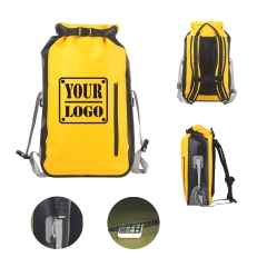 35L Roll-Top Closure Outdoor Dry Bag